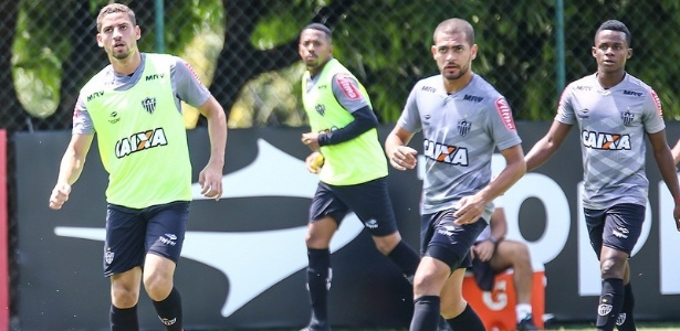 Negociação com o Corinthians não tirou Clayton do treino do Atlético-MG - Bruno Cantini/Clube Atlético Mineiro