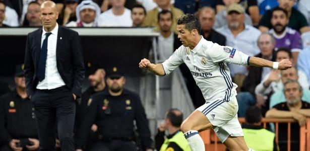 Todos sabem quem é o cobrador de faltas e pênaltis no Real Madrid: Cristiano Ronaldo