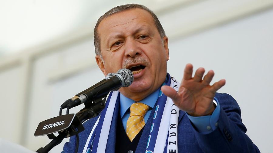 Tayyip Erdogan, presidente da Turquia - REUTERS/Murad Sezer