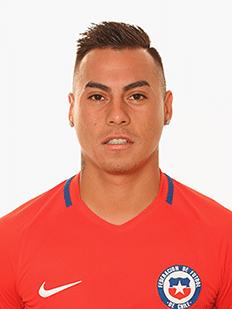 Eduardo Vargas, atacante do Chile