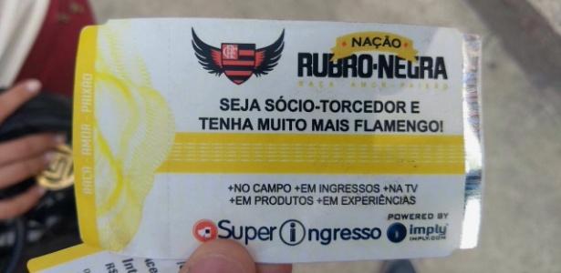 Ingresso falso para a final da Copa do Brasil vendido na região do Maracanã