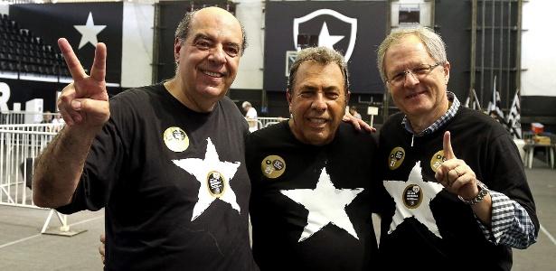 Nelson Mufarrej, presidente do Botafogo; clube conseguiu liberação das contas