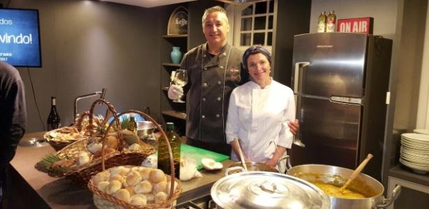Chef de cozinha Altemir Pessali jogou com Tite nos anos 90 e tem amizade até hoje - Arquivo pessoal