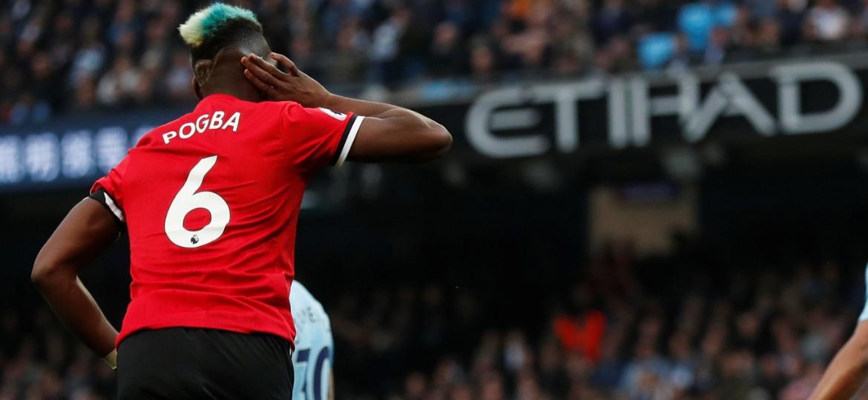 Postura de Pogba foi duramente criticada pelo treinador dinamarquês - RUSSELL CHEYNE/REUTERS