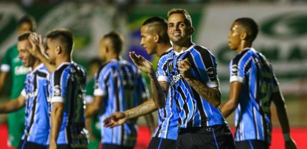 Luan marcou um gol diante do Goiás, na quarta-feira, e será único titular a jogar no RJ