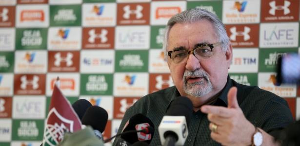 O experiente Paulo Angioni é o diretor de futebol do Fluminense - Lucas Merçon/Fluminense