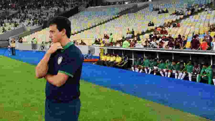 Fernando Diniz pode ter novidade na equipe em relação à ultima rodada, contra a Chapecoense - Maílson Santana/Fluminense FC