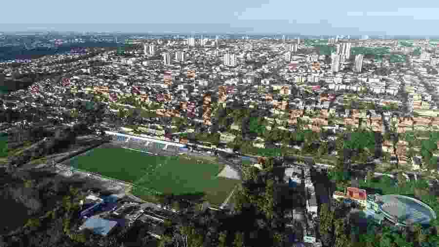 Centro de Treinamento do CSA será desocupado porque está afundando  - Afrânio Bastos/Extra Alagoas