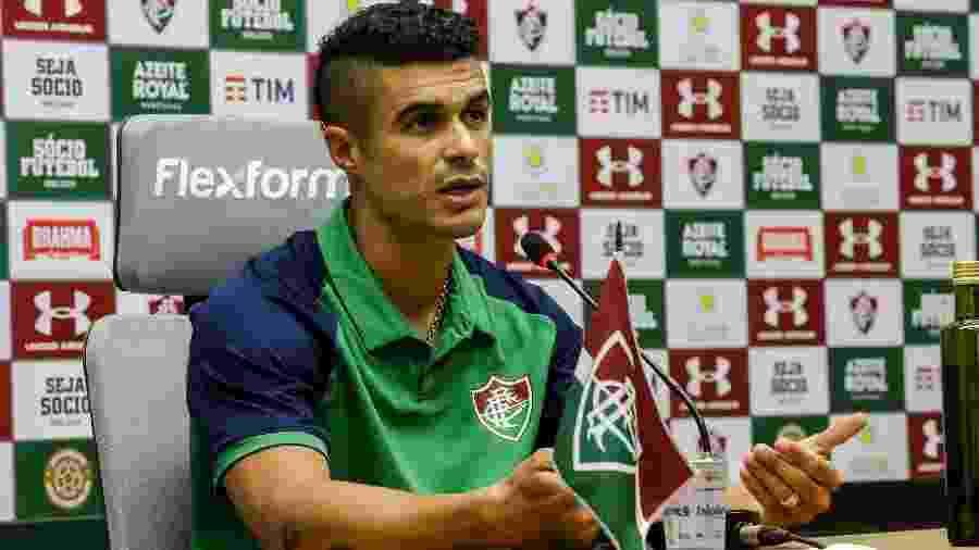 Egídio lamentou eliminação vexatória do Fluminense na Copa Sul-Americana - Lucas Merçon/Fluminense FC