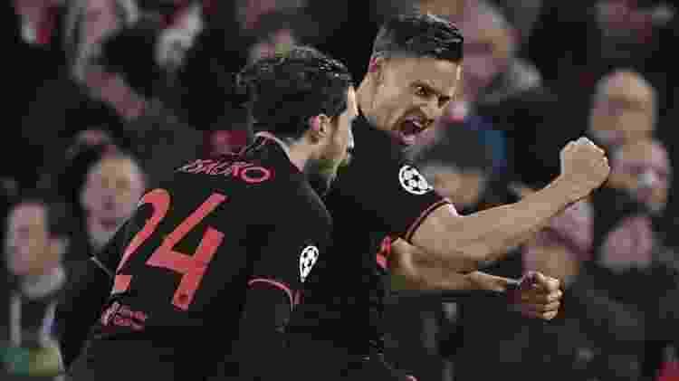 Marcos Llorente Atlético de Madri - Javier Soriano / AFP - Javier Soriano / AFP