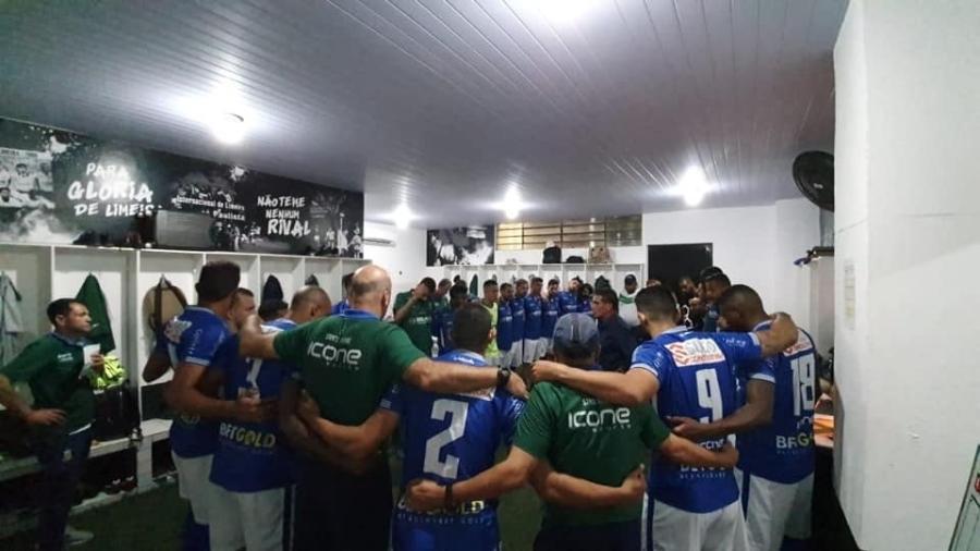 Santo André possuía a melhor campanha do Paulistão antes da paralisação - Reprodução/Facebook