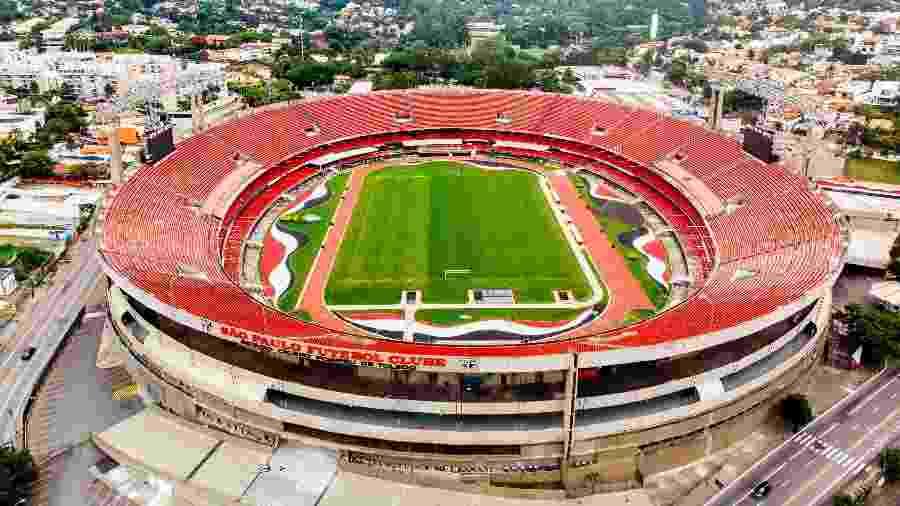 Estádio do Morumbi voltará a receber uma partida do Palmeiras após quase 13 anos - Edson Lopes Jr./UOL