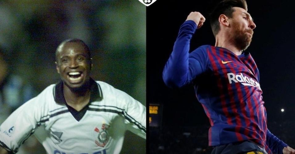 Futebol Muleke - Edilson x Messi