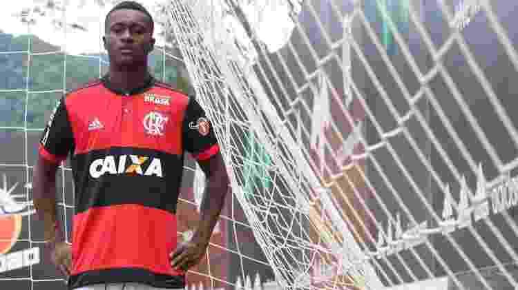 Marlos Moreno (Flamengo) - Divulgação - Divulgação