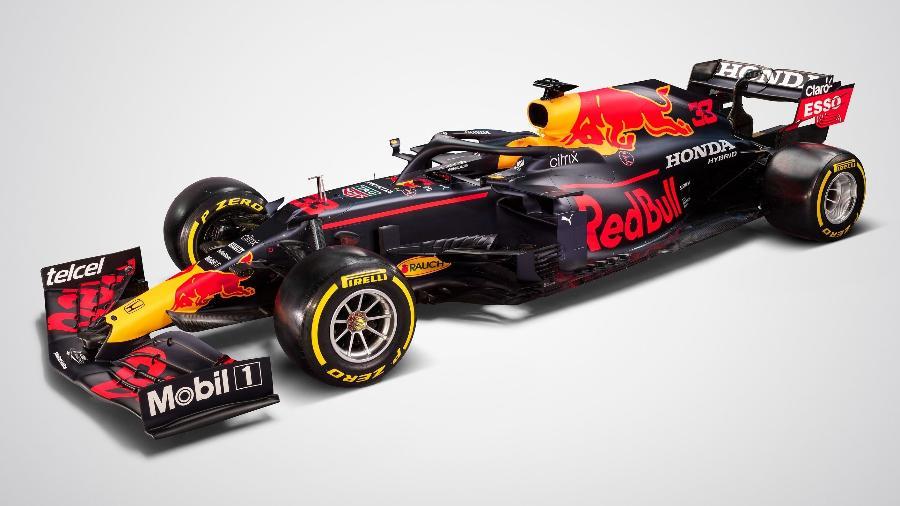 A Red Bull de Verstappen e Perez foi apresentada nesta terça-feira (23) - Red Bull Content Pool
