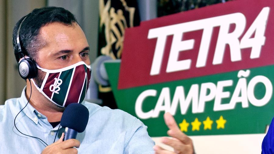 Mário Bittencourt afirmou que o Fluminense tem chances de título da Libertadores em 2021 - Mailson Santana/Fluminense FC