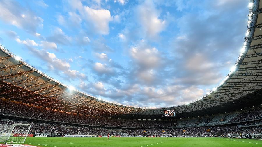 Prefeito de Belo Horizonte libera mais uma vez presença de torcedores em estádios da capital mineira  - Divulgação/Mineirão