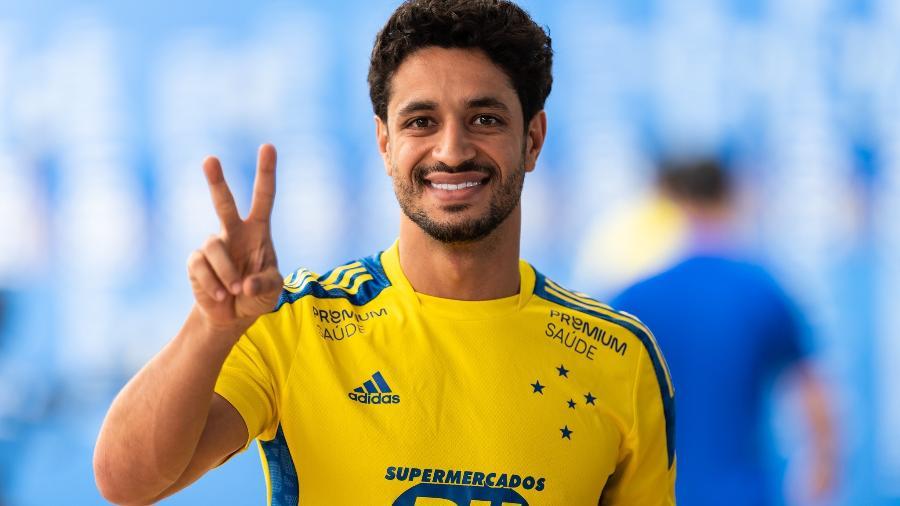 Revelado pelo Grêmio, Léo chegou à Toca II em 2010 e fez mais de 400 jogos pela Raposa - Bruno Haddad/Cruzeiro
