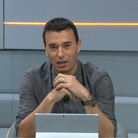 André Rizek corneta Pablo, do São Paulo, por incômodo com postagens do 4 de Julho - Reprodução/SporTV