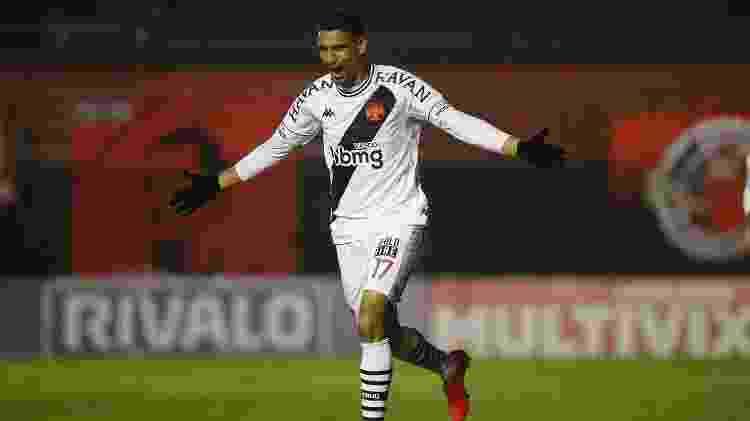 Daniel Amorim, atacante do Vasco, celebra gol contra o Brasil de Pelotas - Rafael Ribeiro/Vasco - Rafael Ribeiro/Vasco