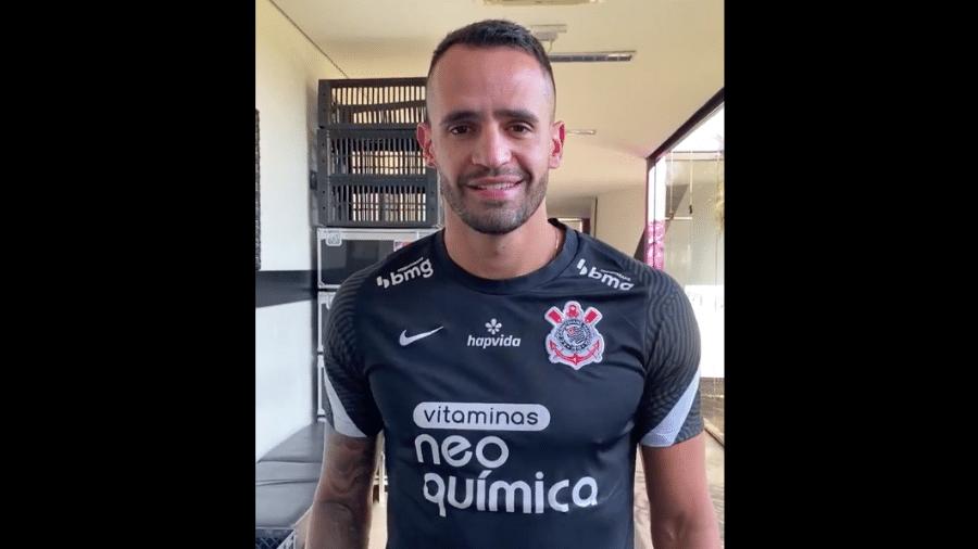 Renato Augusto, novo reforço do Corinthians - Felipe Szpak/Corinthians TV