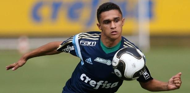 Atacante Erik ganhará mais uma chance como titular do Palmeiras - Cesar Greco/Ag Palmeiras