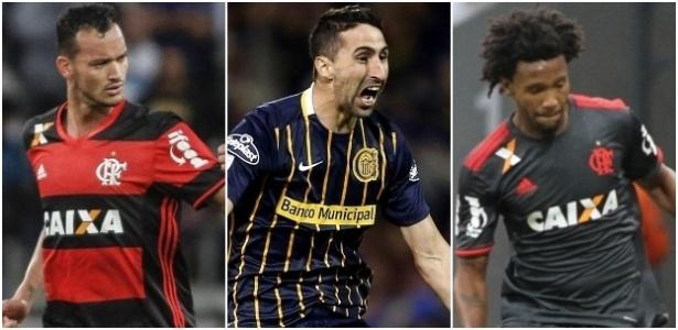 Réver, Donatti e Rafael Vaz foram os zagueiros contratados pelo Flamengo