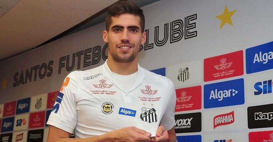 Fabián Noguera assinou contrato com o Santos até junho de 2021