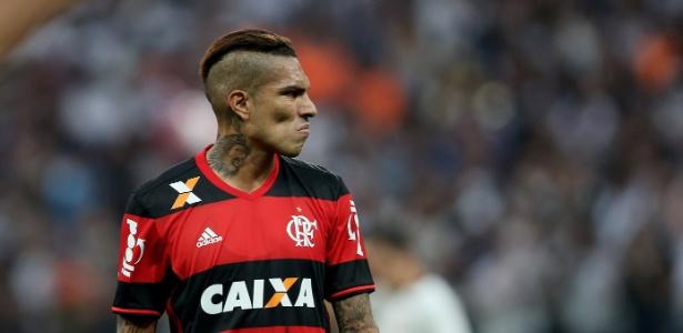Paolo Guerrero comandará o time misto do Flamengo na partida contra o Palestino-CHI