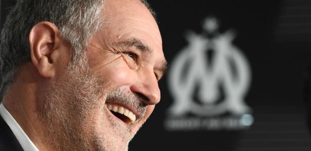 Para dirigente do Olympique do Marselha, clube francês precisa desenvolver seu projeto - Boris Horvat/AFP Photo