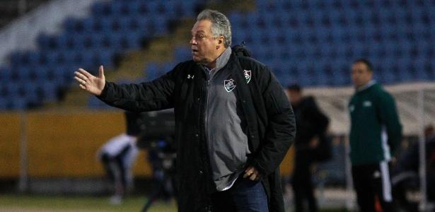Abel Braga analisou desempenho do Fluminense em Quito