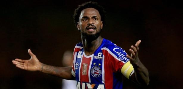 Renê Júnior, volante do Bahia, negocia com o Corinthians - Felipe Oliveira/EC Bahia