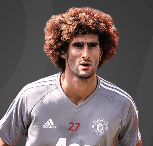 Fellaini, volante do Manchester United