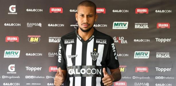 Jair foi anunciado como novo reforço do Atlético-MG na tarde da última quinta-feira