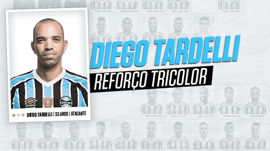 c28b807c5d Grêmio anuncia chegada de Diego Tardelli em contrato de três temporadas