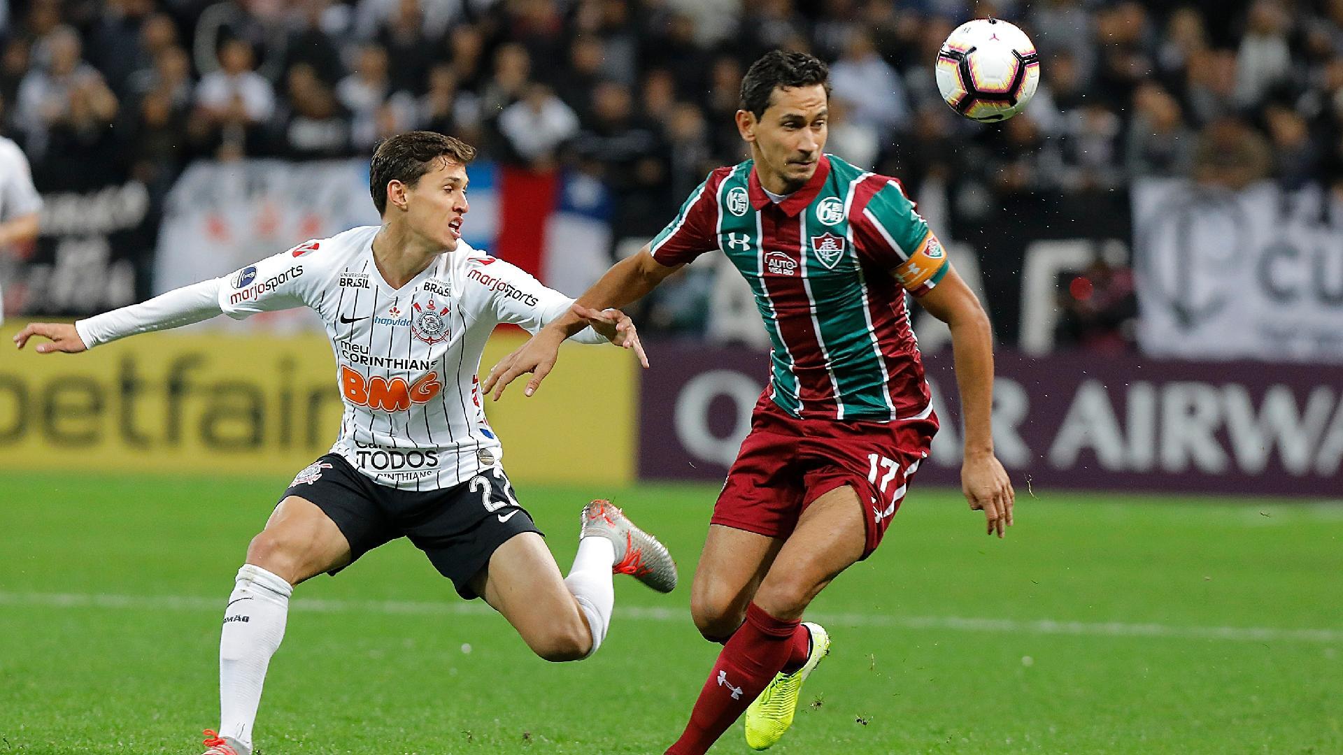 Paulo Henrique Ganso, durante partida entre Fluminense e Corinthians