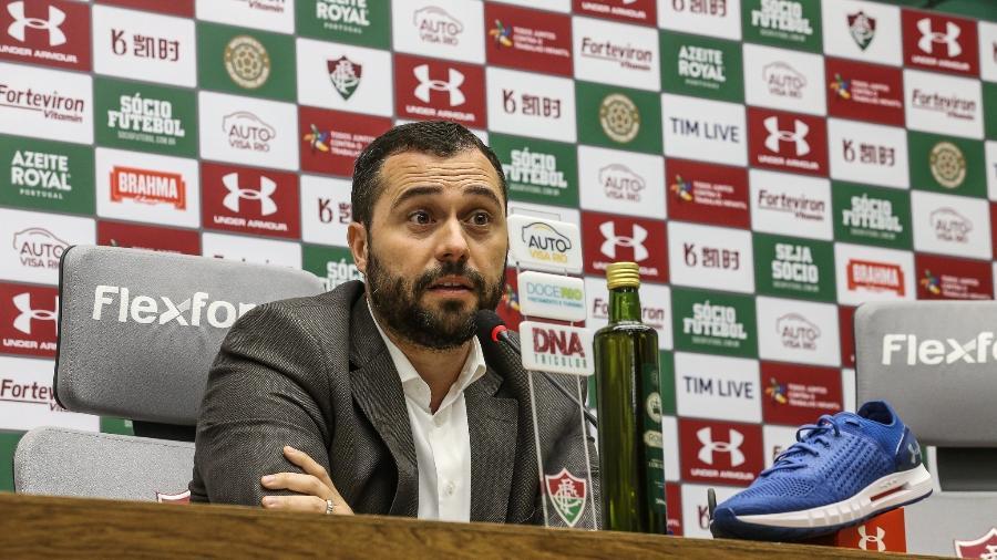 Mario Bittencourt confirmou que clube irá buscar direitos na Justiça Desportiva - Lucas Merçon/Fluminense FC