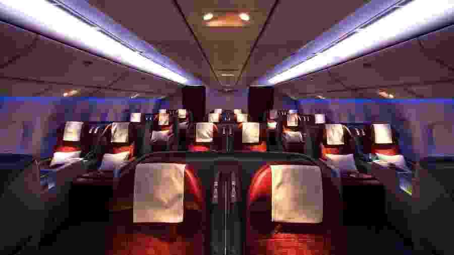 Flamengo voará em avião luxuoso para disputar o Mundial em Doha - Divulgação/Qatar Airways