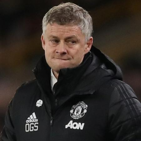 O técnico Ole Gunnar Solskjaer, do Manchester United - Carl Recine / Action Images via Reuters