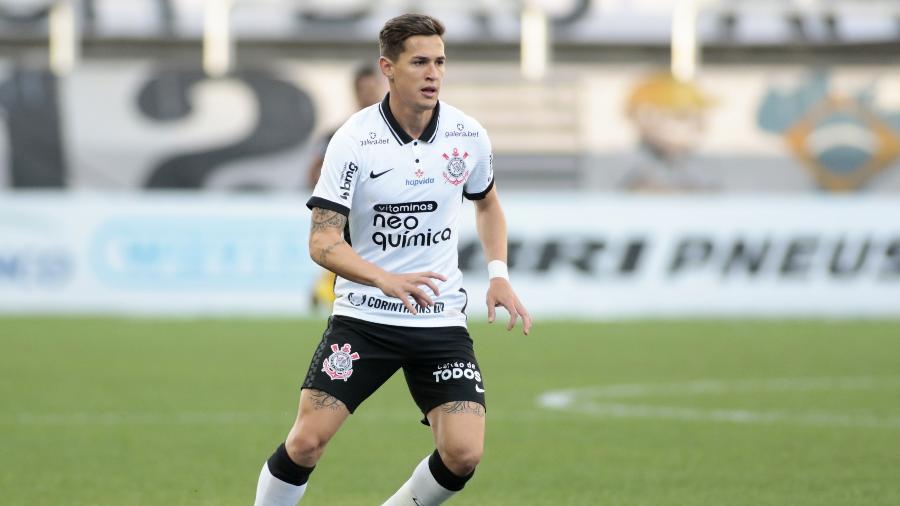Mateus Vital em ação pelo Corinthians, na Neo Química Arena, pelo Paulistão - Rodrigo Coca/Agência Corinthians