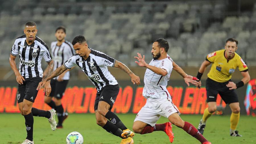 Atlético-MG e Fluminense empataram em 1 a 1 no Brasileirão de 2020, em BH; Claus também apitou o duelo - Pedro Souza/Atlético-MG