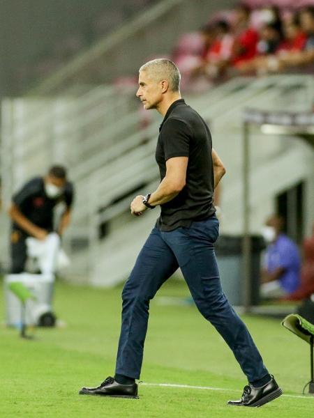 Sylvinho, técnico do Corinthians - Rodrigo coca / Ag. Corinthians