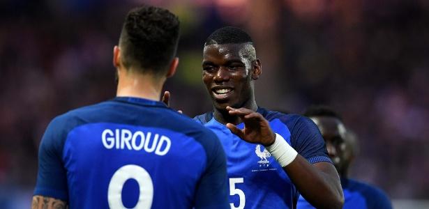 Pogba é a estrela da França na Eurocopa 2016