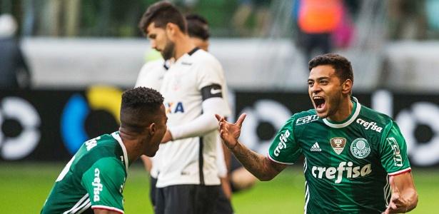 Cleiton Xavier marcou gol no clássico contra o Corinthians, pelo Brasileiro de 2016