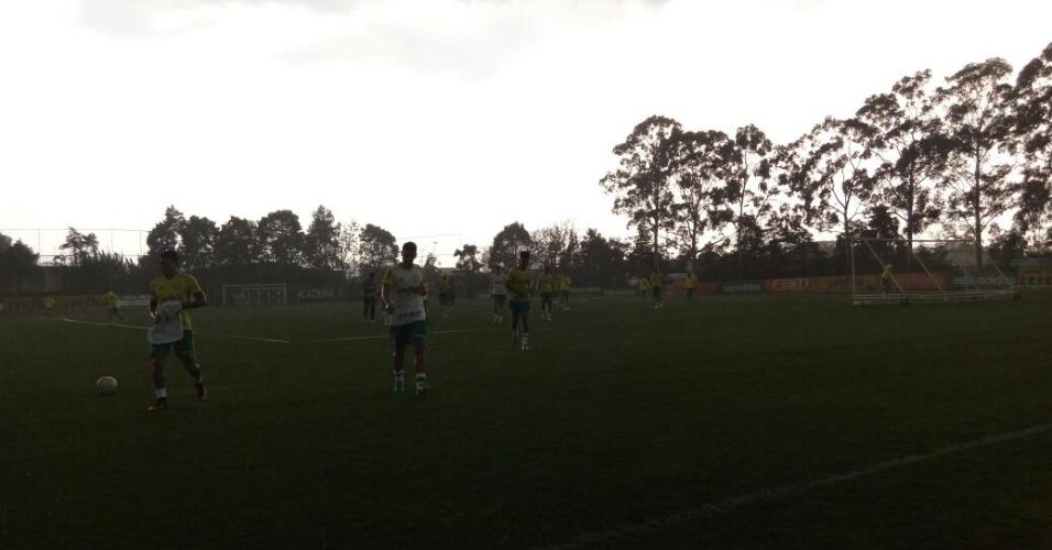 Chuva Palmeiras Tempestade Academia de Futebol