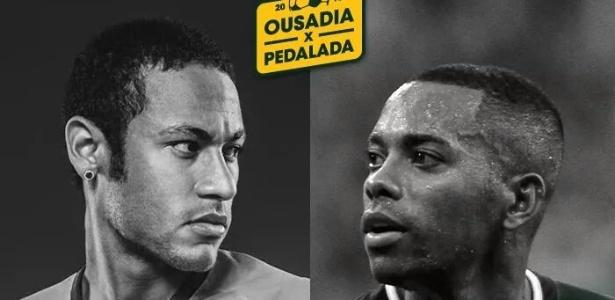 No Pacaembu, Neymar fará jogo beneficente contra amigos de Robinho - Divulgação