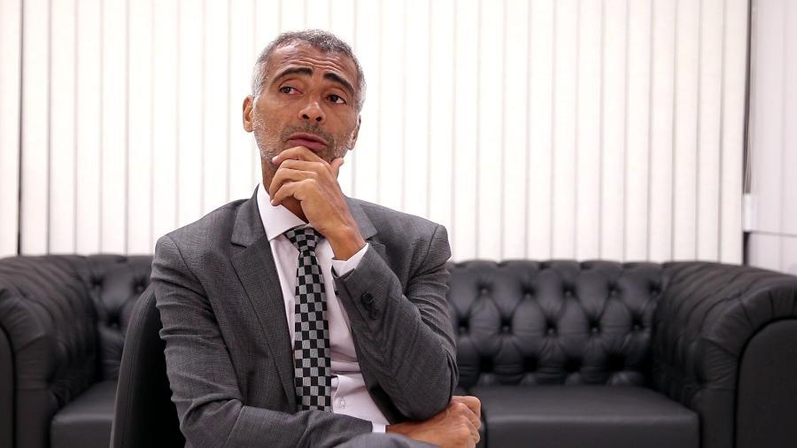 Romário manteve a íntegra do texto da Lei do Mandante que veio da Câmara - UOL