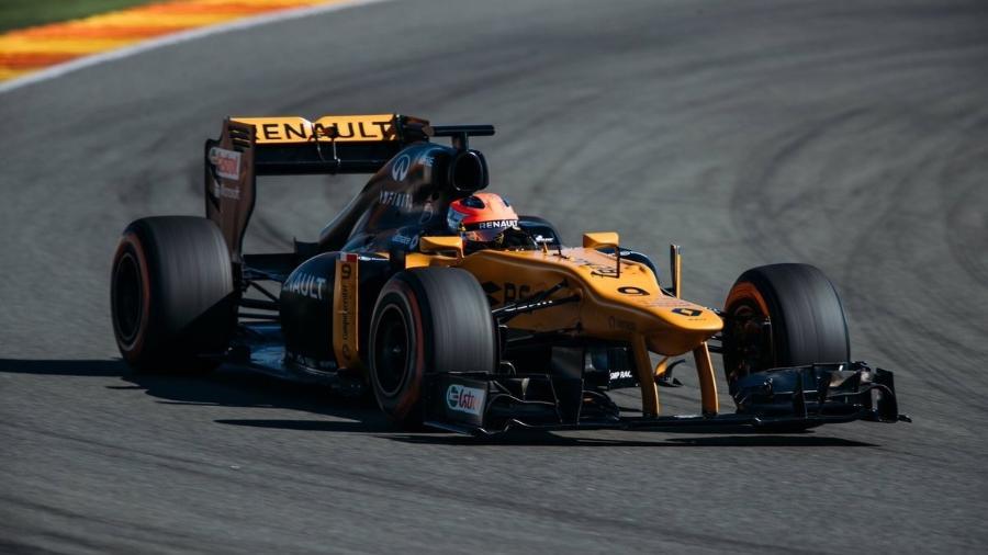 Robert Kubica participa de teste particular da Renault na Espanha - @RenaultSportF1/Twitter