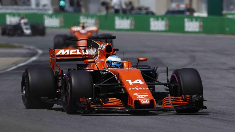Fernando Alonso no GP do Canadá - Xinhua/Rex Shutterstock/ZUMAPRESS