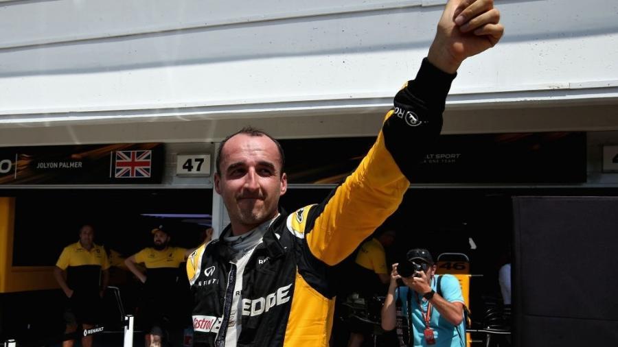 Robert Kubica deu mais de 140 voltas em teste pela Renault Budapeste - Charles Coates/Getty Images